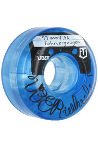 ber Skateboards Fahrvergngen 57mm Rollen (blue)