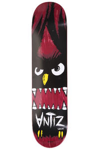 Antiz Skateboards Logo Owl Angry SP12 7.625&quot; Deck (red)