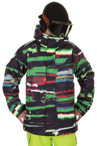 Quiksilver Next Mission Printed Snowboard Jacke kids (resin)