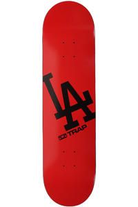 Trap Skateboards LA 8&quot; Deck (red)