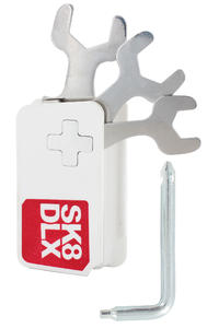 Mabasi X SK8DLX Skate-Tool (white red)