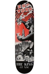 "Zoo York King Of NYC 8"" Deck (black red)"