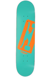Trap Skateboards Truck Logo C SP12 7.75&quot; Deck (turquoise)