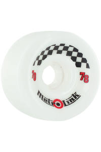 Metro Wheels Link 70mm 78a Rollen 4er Pack  (white)