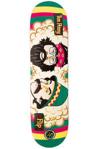 "Flip Penny Cheech And Chong P2 8"" Deck (rasta)"