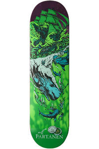 "Creature Partanen Cove 8.375"" Deck (purple green)"