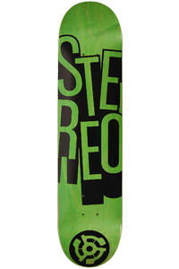 "Stereo Stacked 7.5"" Deck (green)"