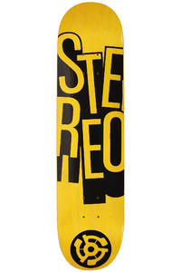 Stereo Stacked 7.75&quot; Deck (yellow)