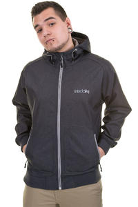 Iriedaily City Shield 2.0 Jacke (black melange)