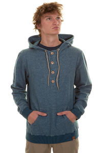 Iriedaily Brickster Hoodie (blue melange)