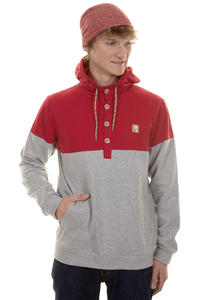 Iriedaily Hipster Block Hoodie (dark red)