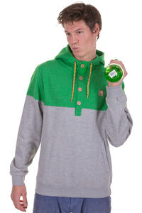 Iriedaily Hipster Block Hoodie (green melange)