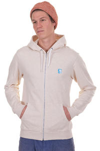 Iriedaily Desire Effect Zip-Hoodie (ecru melange)