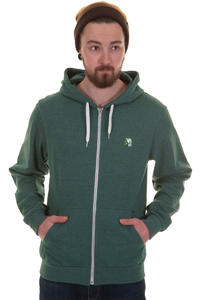 Iriedaily Desire Effect Zip-Hoodie (forest melange)