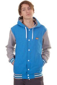 Iriedaily College Jacke (blue melange)