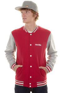 Iriedaily College 3 Jacket (dark red)