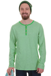 Iriedaily Henley Ringel Longsleeve (kelly green)