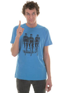 Iriedaily Cycliste T-Shirt (blue melange)