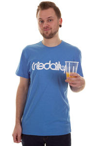 Iriedaily No Matter 4 T-Shirt (blue melange)