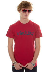 Iriedaily No Matter T-Shirt (dark red)
