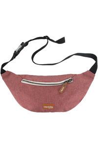 Iriedaily Allied 2 Tasche (dark red melange)
