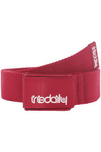 Iriedaily Stainless 2 Gürtel (dark red)