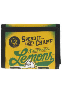 Cleptomanicx Lemons Wallet (blazing yellow)