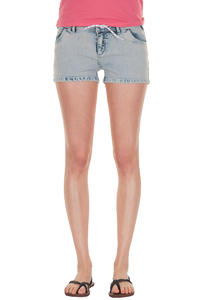 Iriedaily Skinny Denim Shorts girls (bleach wash)