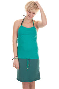 Iriedaily Flashy 2Tone Kleid girls (dark teal)