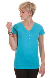 Iriedaily Serafina T-Shirt girls (hawaii blue)