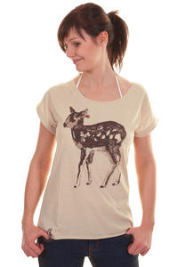Iriedaily Ireh T-Shirt girls (sand melange)