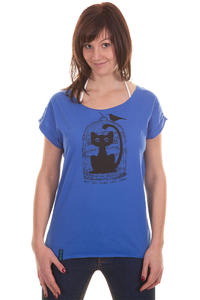 Iriedaily Cat Trap T-Shirt girls (blue)