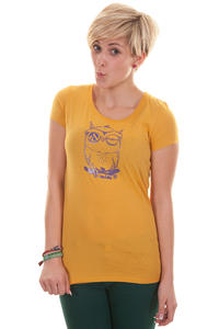 Iriedaily Skateowl T-Shirt girls (gold yellow)