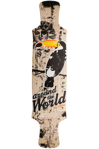 "Airflow Around The World Rio Edition 39.75"" (101cm) Longboard Deck"
