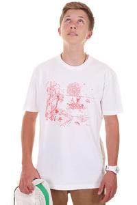 Cleptomanicx Einsame Insel T-Shirt (white)