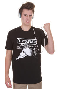 Cleptomanicx Ecxploited T-Shirt (black)