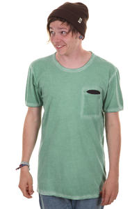 Cleptomanicx Rissen T-Shirt (spruce green)