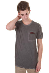 Cleptomanicx Rissen T-Shirt (dark grey)