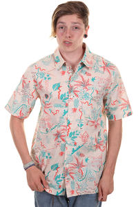 Cleptomanicx Hawailly Shortsleeve-Shirt (macadamia)
