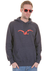 Cleptomanicx Möwe Hoodie (heather dark navy)