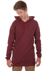 Cleptomanicx Terry 2 Hoodie (dried tomato)
