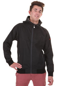Cleptomanicx Burner Bonded Jacke (black)