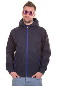 Cleptomanicx Burner Bonded Jacke (dark navy)