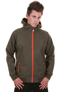 Cleptomanicx Burner Bonded Jacke (dark olive)