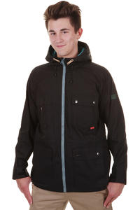 Cleptomanicx Aaljäger Waxed Jacke (black)