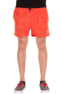 Cleptomanicx Jam Short Shorts (hot coral)