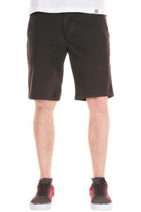 Cleptomanicx Port Slim Chino Shorts (dark brown)