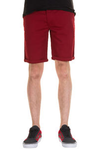 Cleptomanicx Port Slim Vintage Shorts (dried tomato)