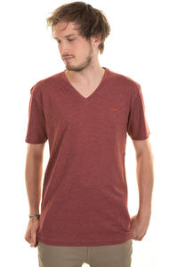 Cleptomanicx Ligull T-Shirt (heather dried tomato)