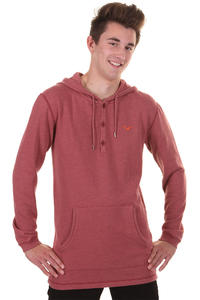Cleptomanicx Ligull 3000 Hoodie (heather dried tomato)